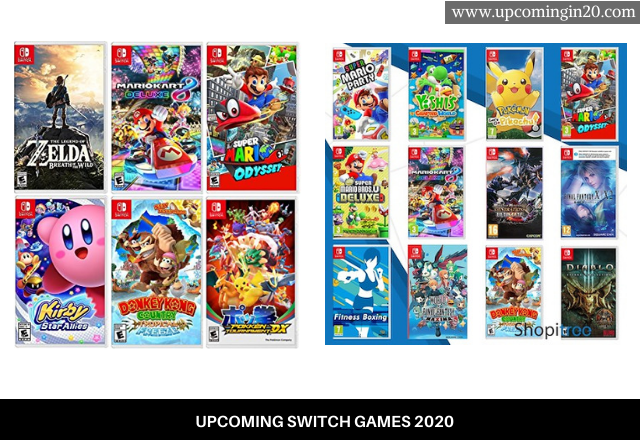2020 Switch Games.Upcoming Switch Games 2020 Best Lists With Release Dates
