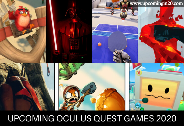 List of All Upcoming Oculus Quest Games 2020