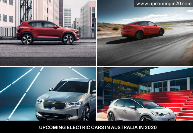 Upcoming Electric Cars in Australia in 2020