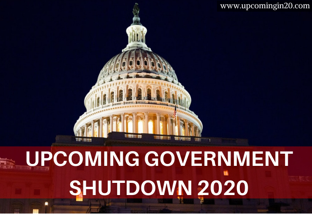 Upcoming Government Shutdown 2020