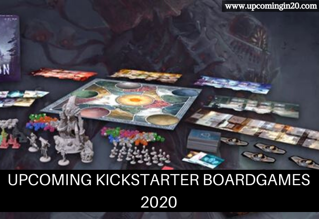 Upcoming Kickstarter Boardgames 2020