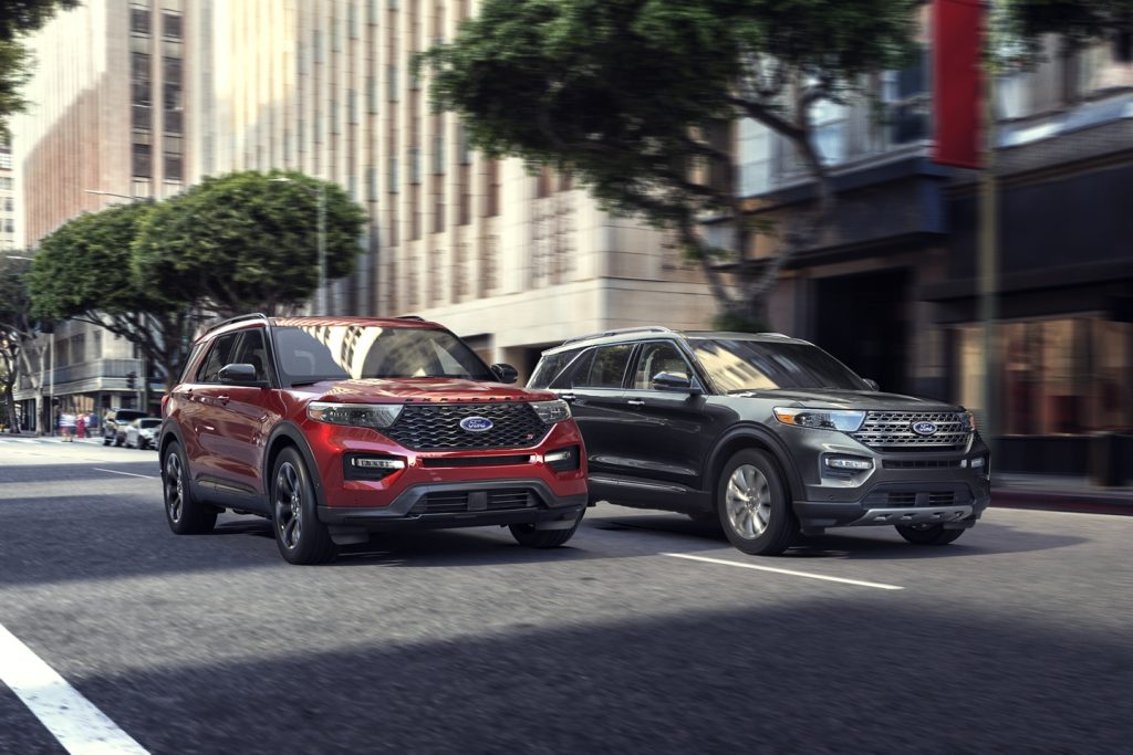 Ford Explorer 2020 - Ford Upcoming Cars in Canada 2020