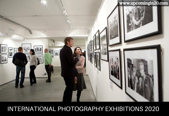 International photography exhibitions 2020