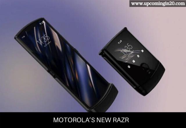 Motorola's New Razr - Motorola Upcoming Smartphone In Canada In 2020