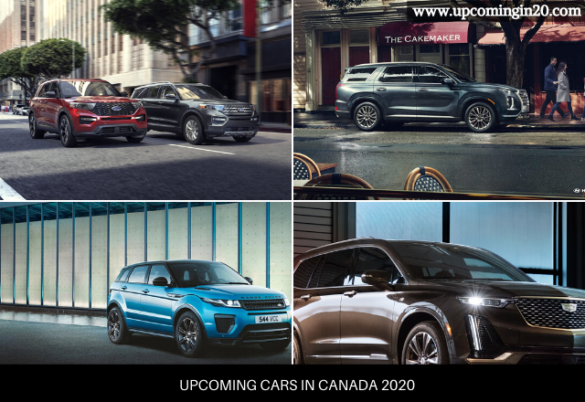 Upcoming Cars in Canada 2020