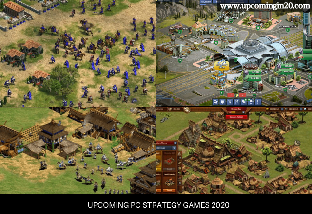 Upcoming PC Strategy Games 2020