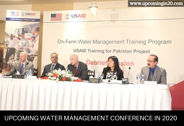 Upcoming Water Management Conference in 2020