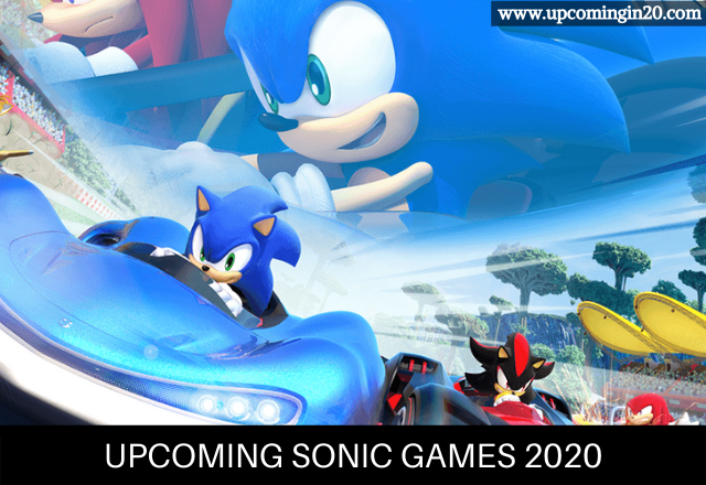 Upcoming sonic games 2020