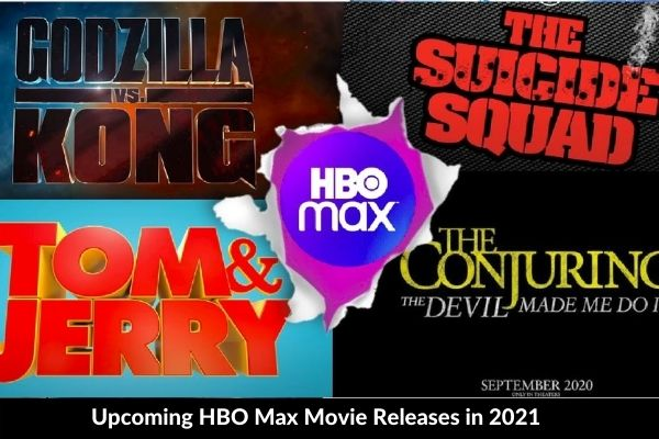 Upcoming HBO Max Movie Releases in 2021