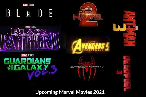 Upcoming Marvel Movies 2021