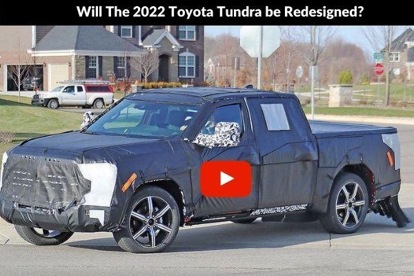 2022 Toyota Tundra Redesigned leaked photos