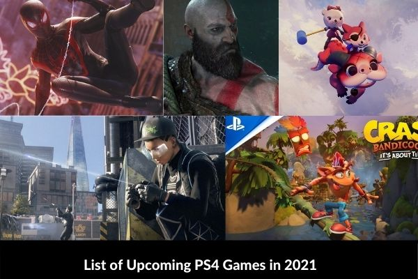List of Upcoming PS4 Games in 2021
