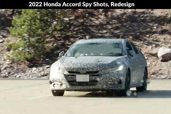 2022 Honda Accord Spy Shots, Redesign Photo