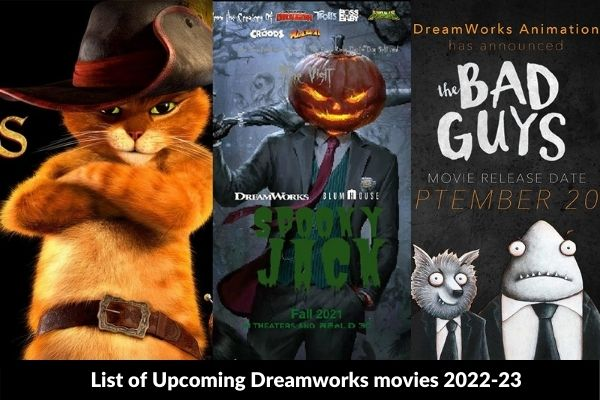 List of Upcoming Dreamworks movies 2022-23
