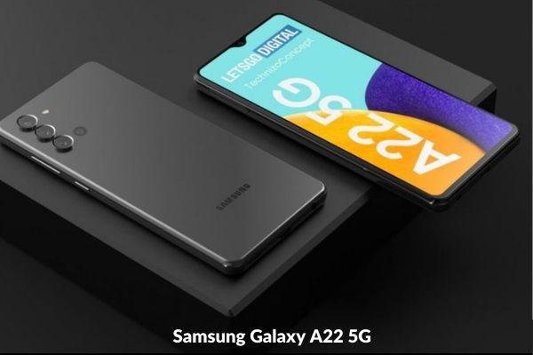 Samsung Galaxy A22 5G Photo Price and release date