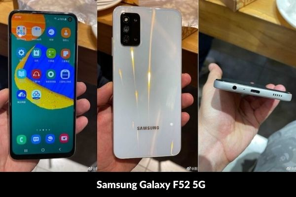 Samsung Galaxy F52 5G Photo Price and release date