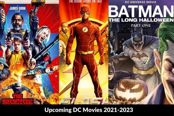 Upcoming DC Movies 2021-2023